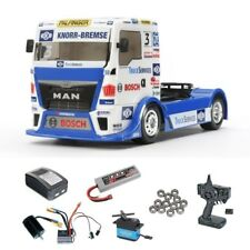 Tamiya Team Hahn Racing MAN TGS Brushless-Edition Komplett-Set - 300058632BLSET