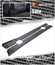 Carbon Fiber Varis Style Side Skirt Extensions for NISSAN Skyline GT-R R35 GTR