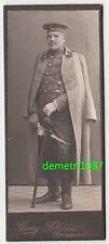 Kabinettfoto sächsischer Husar Uniform um 1910 Grossenhain ! (F911