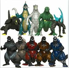 Godzilla Monsters Action Toy Figure Figures 10pcs/ Set free shipping
