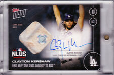 Clayton Kershaw Autograph 2016 Topps NOW 579-D NLDS Game Used Base 35/49 AUTO