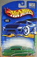 2001 Hot Wheels #003 Treasure Hunt 3/12 SO FINE Green w/WWDD Real Riders Wheels