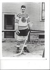 BABE DYE 8X10 PHOTO CHICAGO BLACKHAWKS NHL PICTURE HOCKEY B/W