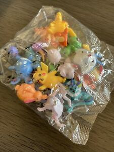 Lot of 24 Pokemon Toy Mini Figures (1 bag) - Monster  Model Collection 2-3cm
