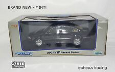 Welly 2001 VW Passat V6 4Motion Sedan B5.5 2.8l Black Beige 1521W 1/18 NEW MINT!