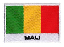 Patch écusson brodé patche badge à coudre drapeau pays MALI 70 x 45 mm