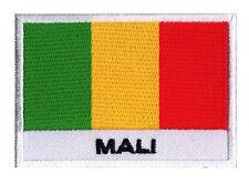 Patch écusson patche badge à coudre drapeau pays MALI 70 x 45 mm
