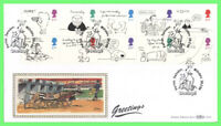 G.B. 1996 Greetings set on Benham First Day Cover, Swindon Wiltshire