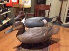 Vintage Prime Pair Of Gorgeous Pintail Duck Decoys By Ken Wharton Springfield PA
