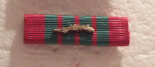 Ww Ii French Croix de Guerre Medal Ribbon Bar with Palm