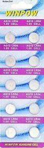 alkaline batteries AG10 ,LR54 ,389, LR1130, LR1131 NO Hg in Melb, Long Expiry