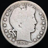 1906 O | U.S.A. Barber Half Dollar | Silver | Coins | KM Coins