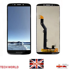 New Motorola Moto G6 Play XT1922-2 Touch Digitizer LCD Screen Assembly Black UK