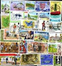 Iles Anglo-Normandes - Channel islands 300 timbres différents