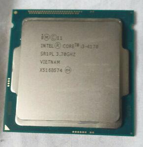 Intel Core i3-4170 SR1PL @3.70GHZ  Socket LGA 1150 Processor