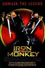 IRON MONKEY - 1993 - original 2-sided 27x40 Movie Poster  - DONNIE YEN