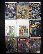 SUPERMAN & LEGION OF SUPER HEROES MIXED LOT 9 DC MINT