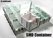 20 Stück Leer Container Box weiß für SMD Bauelemente Mäuseklo 0603 0805 1206
