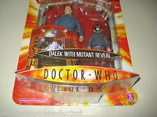 "DOCTOR WHO Factory ERROR 5"" Dalek Mutant Reveal Action Figure 2006 MOC MINT NEW"