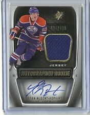 2011-12 Upper Deck SPX Rookie Jersey Auto #205 RYAN NUGENT HOPKINS #295 of 499