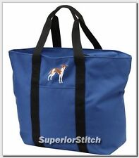 ITALIAN GREYHOUND embroidered tote bag ANY COLOR