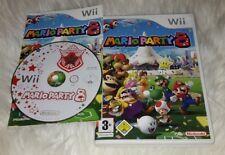 Nintendo Wii Spiel - Mario Party 8 - guter Zustand - in OVP mit Anleitung -