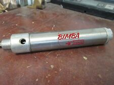 Bimba Stainless Air Cylinder 124-D Used