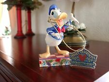 DISNEY TRADITIONS/SHOWCASE *DONALD DUCK-ALL QUACKED UP*-4011751-BOXED VERY RARE