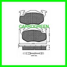 Plaquette de Freins Avant PEUGEOT 106 Diesel 1.5