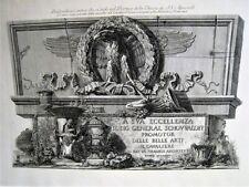 Piranesi.bas-relief from Ss Apostoli Church.original Etching.paris 1800-1806