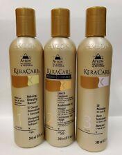 Keracare Hydrating Shampoo, Leave-In, Jojoba Oil 8 oz set