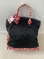 Louis Vuitton Yakoi Kusama Dots Lockit Nylon Handbag