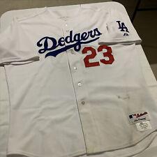 "Derek Lowe ""Game-Used"" 2007 Los Angeles Dodgers White Jersey w/Steiner COA"