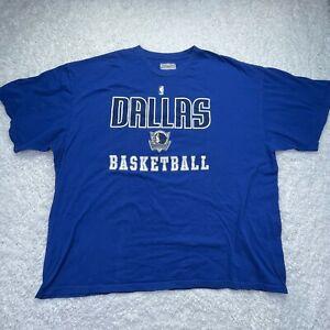 Shawn Marion Shirt Adult 3XL XXXL Dallas Mavericks Short Sleeve Blue NBA D6