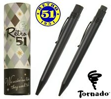 Retro 51  #VRS-1701 / Black Stealth Tornado Pen & Pencil Set