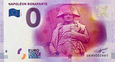BILLET 0 ZERO EURO SOUVENIR TOURISTIQUE PARIS NAPOLEON BONAPARTE 2016