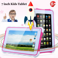 7 INCH Kids Child Tablet PC Android4.4 8GB WIFI 3G 2* Camera 1024*600 GIFT Pink