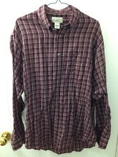 Men's Arnold Palmer Button Up Dress Shirt Size Medium 15.5 With Pocket