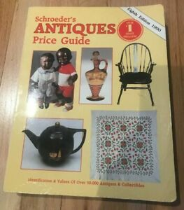Schroeder's Antiques Price Guide 8th Edition - Printed 1990