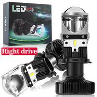 FOR Ford Transit MK7 Led Bulb H4 RHD LED Headlight Bulbs Super White Bright