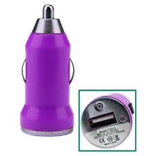 USB Car Charger Adaptor Plug 12V Purple