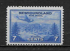 NEWFOUNDLAND , CANADA , 1943 , AIRMAIL , 7c STAMP , PERF , MNH