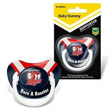 Sydney Roosters NRL Infant Dummy Pacifier Baby Shower Loosing Team Logo Gift
