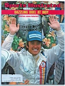1974 Sports Illustrated Indianapolis 500 Winner Johnny Rutherford