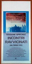 INCONTRI RAVVICINATI DEL TERZO TIPO locandina poster Close Encounters L21