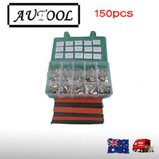 150 PCs cable terminals Battery free heat shrink for Bank Car Wire Crimper Solar