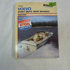 VOLVO STERN DRIVE 1968-1989 BOAT MOTOR SHOP MANUAL CLYMER