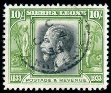 MOMEN: SIERRA LEONE SG #179 1933 USED LOT #60035