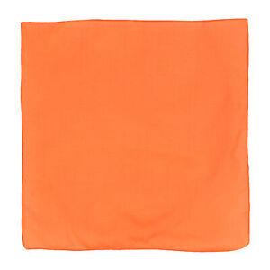 New CTM Solid Color Cotton Bandanas