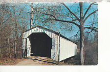 Cade's Mill Covered Bridge  Fountain County   IN   Chrome Postcard 247